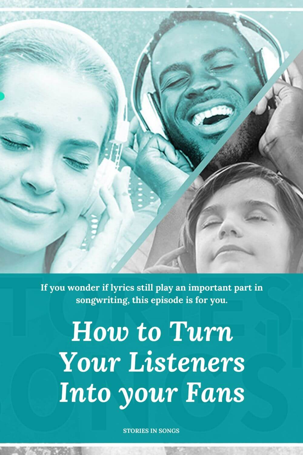 Transcript of Episode 001 - How to turn your Listeners Into your Fans.