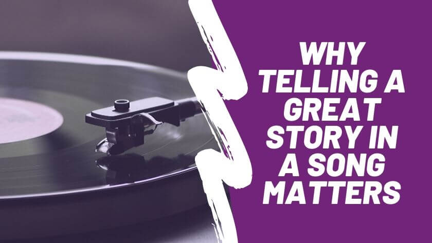Does storytelling matter in songwriting?